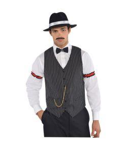 Gangster vest til 1920er udklædning.