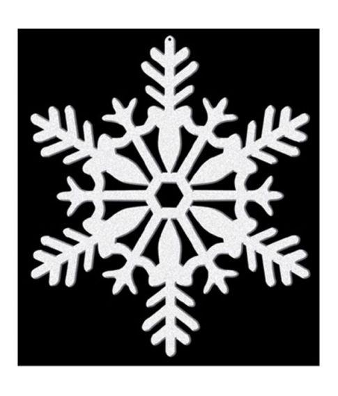 Snefnug hvid glimmer