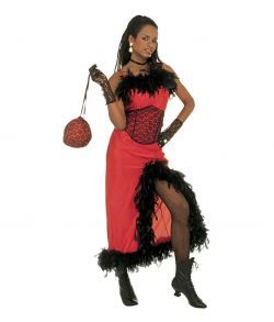 Saloon Madame kostume