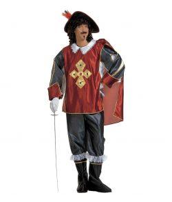 Musketer kostume