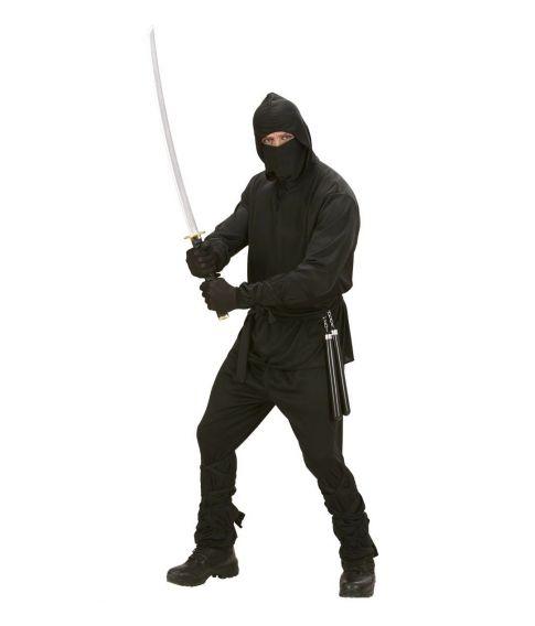 Ninja kostume til voksne