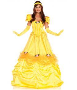Flot Belle kostume til voksne.