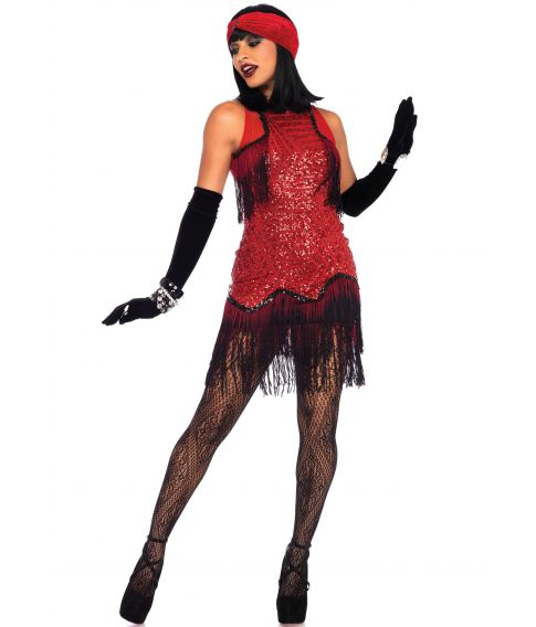 Gatsby kjole til 20erne udklædning.