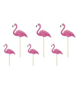 Flamingo sticks 6 stk