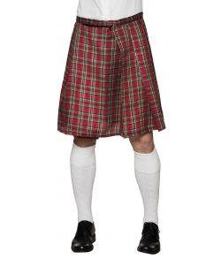 Skotsk kilt til udklædning.