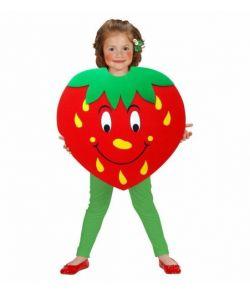 Jordbær poncho