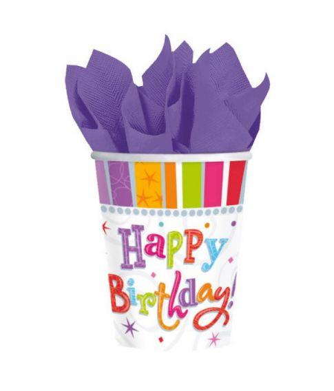 Happy Birthday kopper 266ml