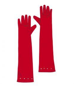 Lange handsker, rød barn