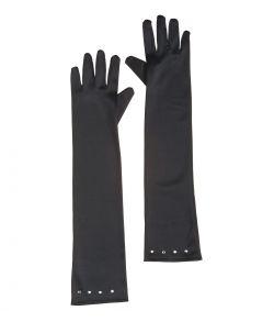 Lange handsker, sort barn