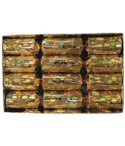 Knallerter bobler guld 20 cm 4 stk