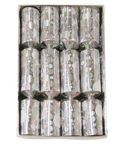 Sølv trækknallerter til nytårsaften.