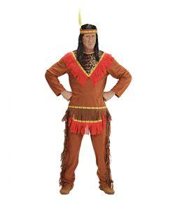 Indianer kostume til mænd.