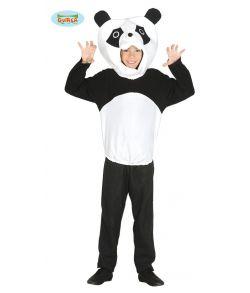 Billigt panda kostume til børn.