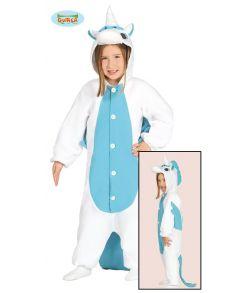 Enhjørning kostume, blå