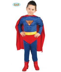 Superhelt kostume