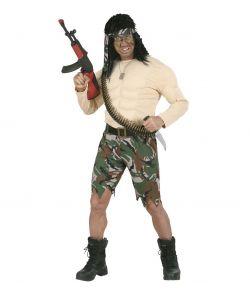 Rambo kostume