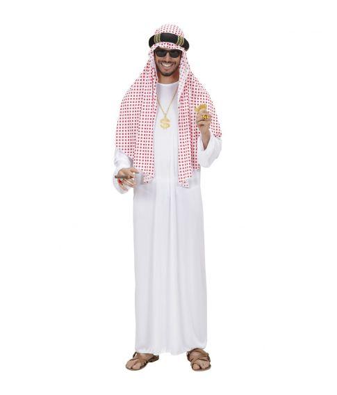 Arabiske Sheik kostume