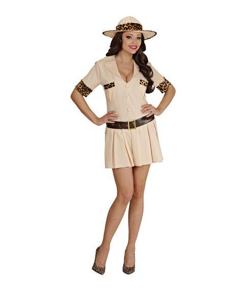 Safari kostume til damer.