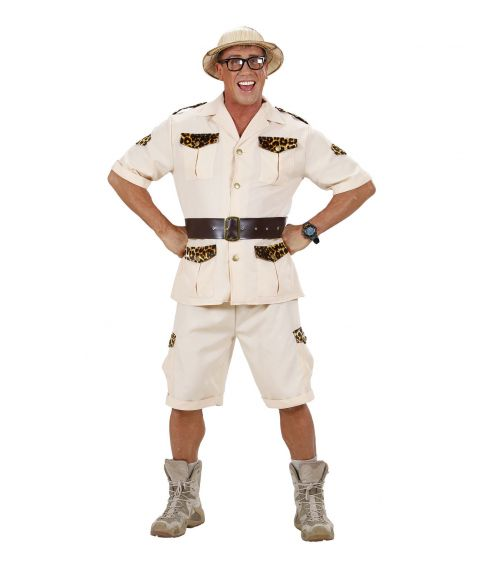 Safari Man kostume.