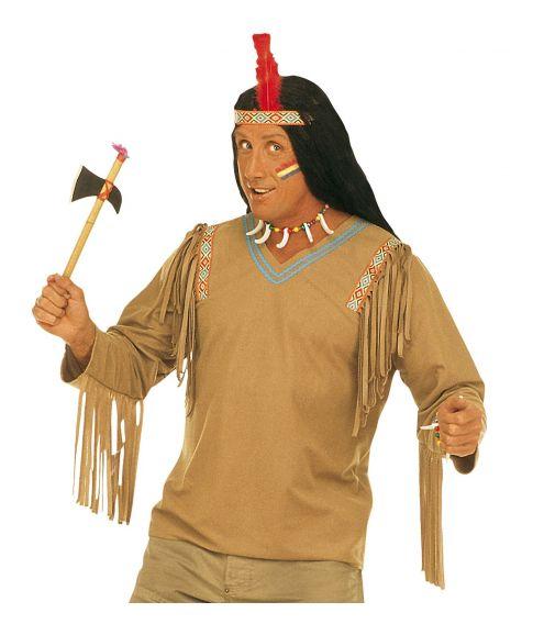 Indianerbluse til kostume.