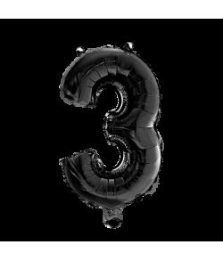 Folie tal ballon 3 sort, 41 cm.