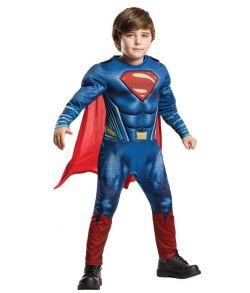 Flot Superman kostume med muskler.