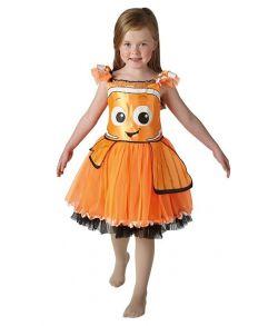 Flot Nemo kjole med tyl.