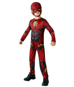 Justice League Flash kostume til drenge.