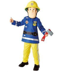 Brandmand Sam kostume til børn.