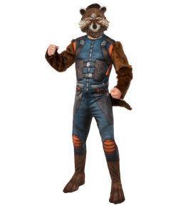 Rocket Raccoon kostume til voksne.