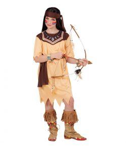 Billigt indianer kostume til piger.