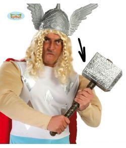 Billig hammer til Thor udklædningen.