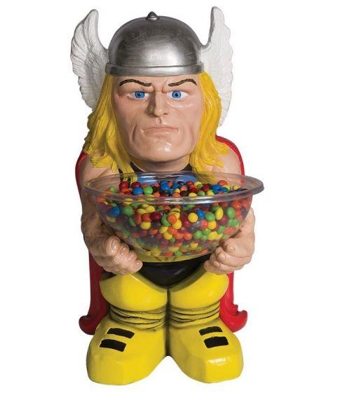 Thor figur med slik skål.