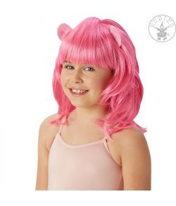 Pinkie Pie paryk med små filt ører.