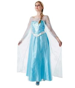Frost Elsa kjole til voksne.