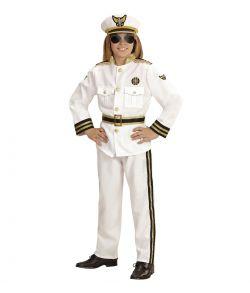 Flot Kaptajn kostume til fastelavn.