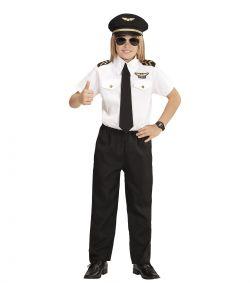 Billigt pilot kostume til børn.