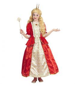 Dronning kostume til børn.