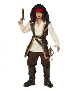 Billigt pirat kostume til drenge.