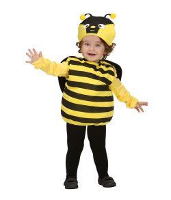 Sødt bi kostume til småbørn.