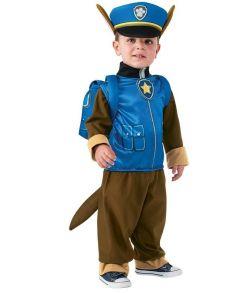 Paw Patrol Chase kostume til småbørn.