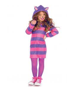 Cozy Cheshire Cat kostume til børn.