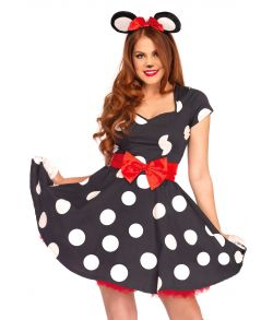 Miss Mouse kostume