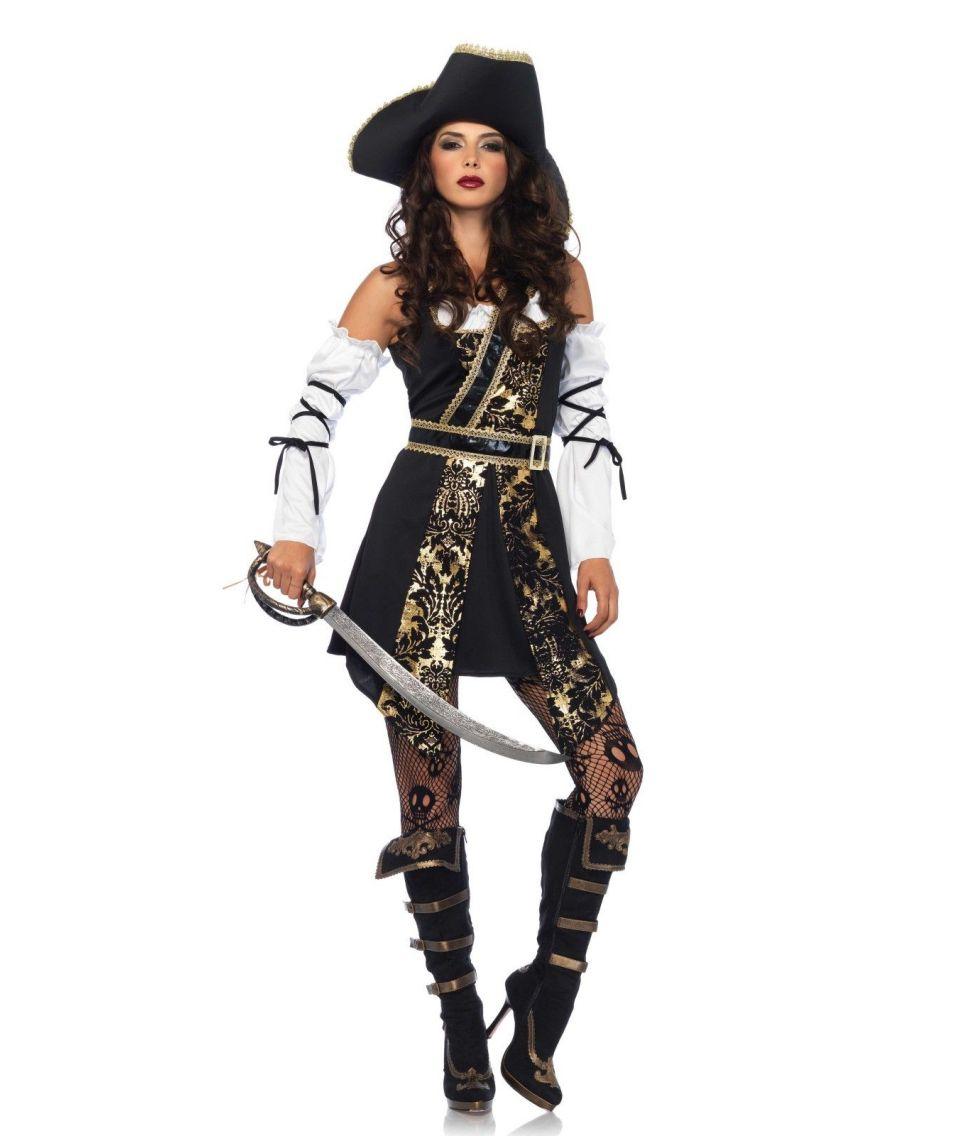 Flot pirat kostume til kvinder.