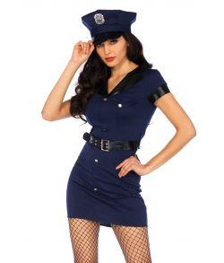 Billigt politi kostume til sidste skoledag.