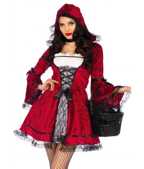 Billigt Rødhætte kostume til sidste skoledag.