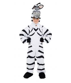 Billigt zebra kostume til børn.
