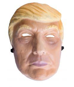 Præsident Donald Trump maske