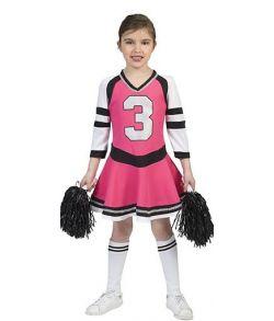 Flot Cheerleader kostume til piger.