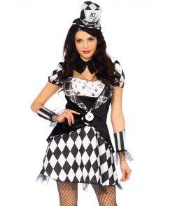 Billigt Marvelous Mad Hatter kostume til sidste skoledag.
